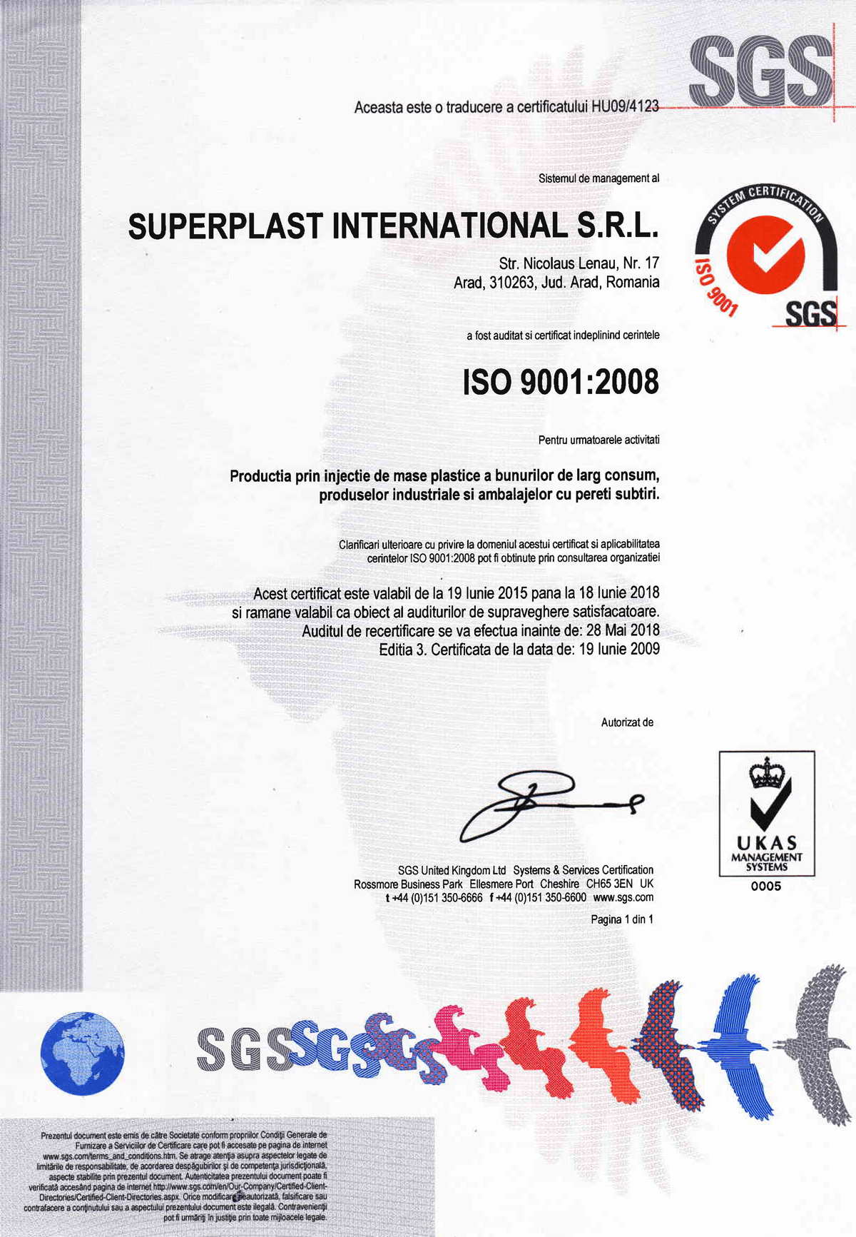 Superplast International Arad