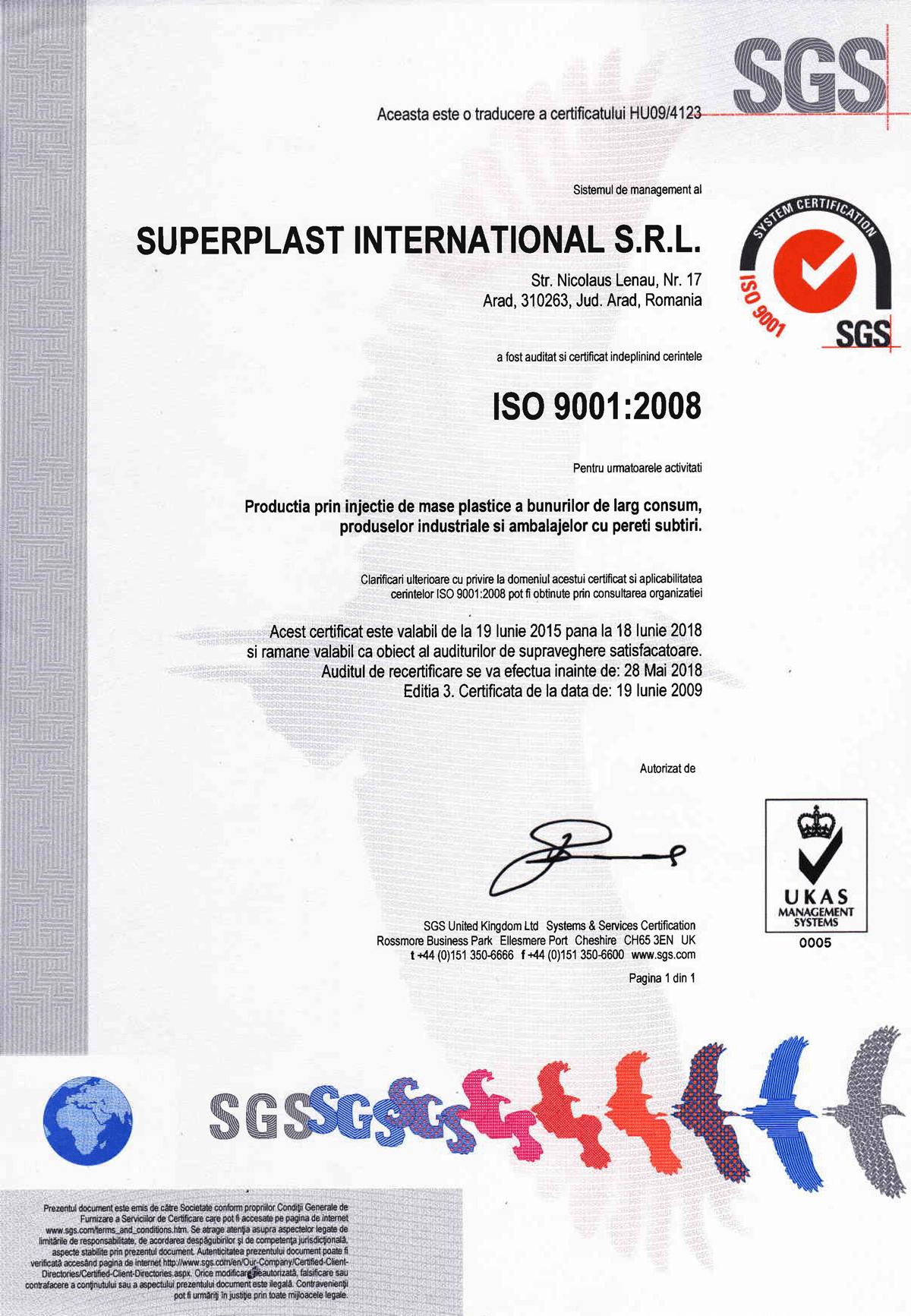 Superplast International Arad